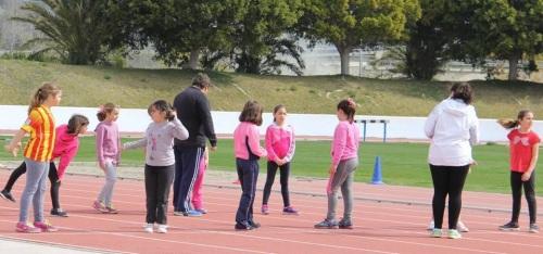 Almuñécar viene celebrando los III Juegos Escolares de Atletismo