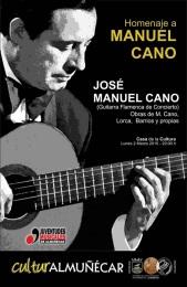 Concierto homenaje a Manuel Cano