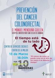 Conferencia del Doctor Manuel Menduiña sobre el cáncer colorrectal