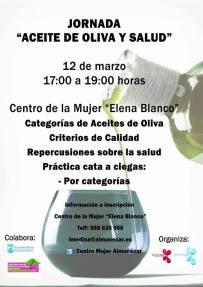 Taller esta tarde en el Centro de la Mujer de Almuñécar sobre El aceite de oliva y la salud