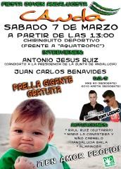 'Fiesta joven andalucista' organizada por CANDA