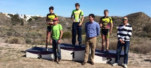 El ciclista herradureño Iván Ruiz ganó el II Rally BTT de Mojácar