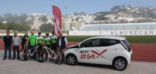 El nuevo Club Ciclista Berbikes de Almuñécar se presenta a la afición