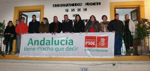 PSOE Pancarta elecciones andaluzas