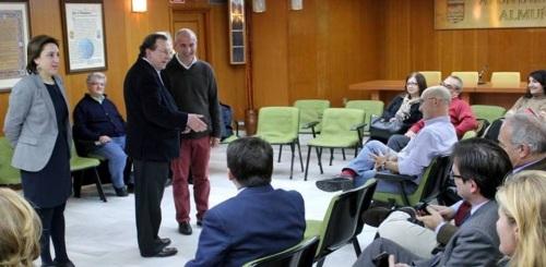 Visita del consejero de Justicia de la Junta a Almuñécar