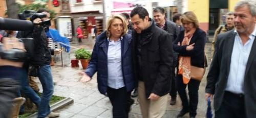 Breve visita de Juan Manuel Moreno esta mañana a Almuñécar