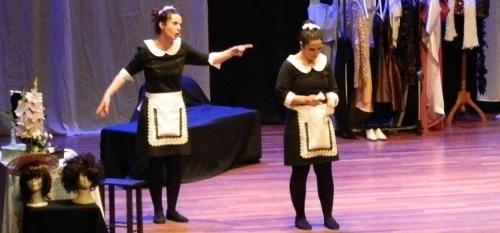 """Segundo Acto Teatro presentó con éxito en Almuñécar la obra """"Yo, criada"""""""
