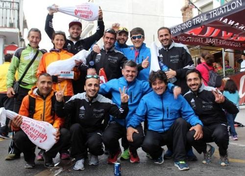 El Club Atletismo Sexitano en la 'I Edición del Trail Lanjarón Cañón'