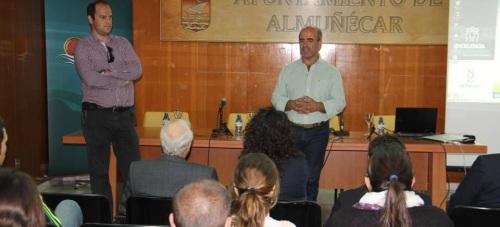 CONCEJAL DE MEDIO AMBIENTE DIO LA BIENVENIDA A LOS PARTICIPANTES 15