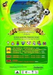 Cartel de la XXI Copa de Campeones División de Honor Juvenil de España