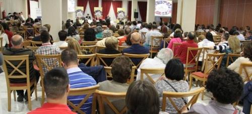 13 Encuentro Andaluza de Familias con personas de síndrome de Down Andalucía que se ha venido celebrando en el hotel Bahía Tropical de Almuñécar