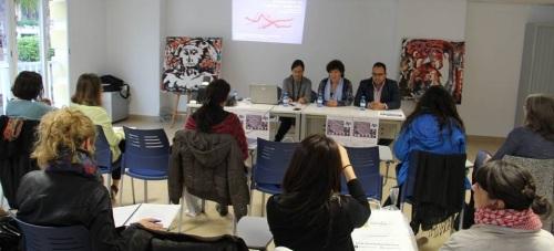 Acto inaugural de las III Jornadas de Arteterapia y Psicología en La Herradura