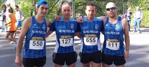 El Club Atletismo Sexitano en la 'Carrera Padre Marcelino' de Granada