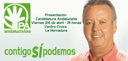 Presentación de la candidatura del PA en La Herradura