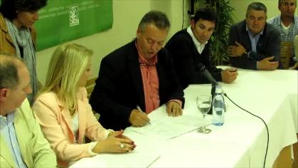 Juan Carlos Benavides firma el manifiesto de Turismo