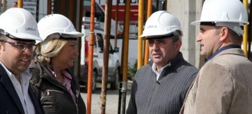 El proyecto ha recibido la visita del diputado de Función Pública, Francisco Javier Maldonado, y la alcaldesa Trinidad Herrera