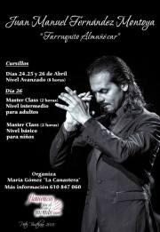 Master class de Farruquito en Almuñécar 26 de abril