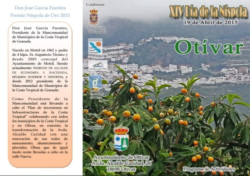 XIV Día de la Níspola en Otívar, 19 de abril de 2015