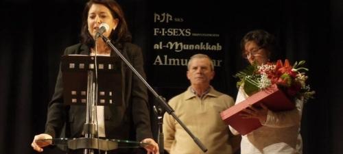REINOSO  MIGUEL LOPEZ PRESIDENTE DE ARDA  EN UN ACTO