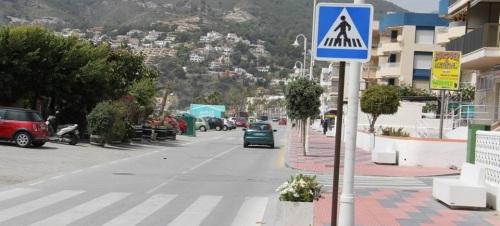 Mejora en la seguridad vial en los accesos a los centro educativos sexitanos