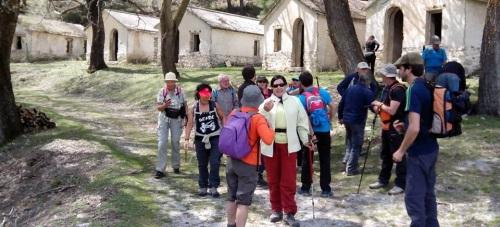 Senderistas sexitanos realizaron una ruta por la Sierra de la Almijara
