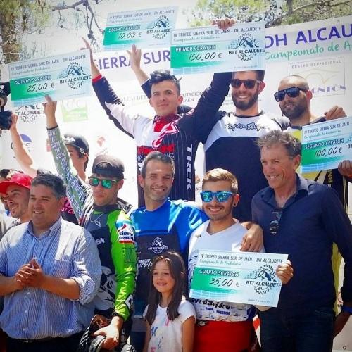 Luis Zarco, del Show Time BMX, gana el Trofeo Sierra Sur DH Alcaudete y Campeonato de Andalucía de Descenso