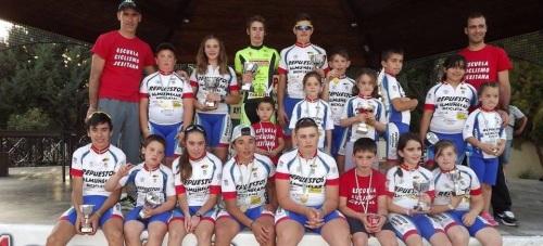La Escuela de Ciclismo Sexitana sigue sumando triunfos en el Circuito Provincial