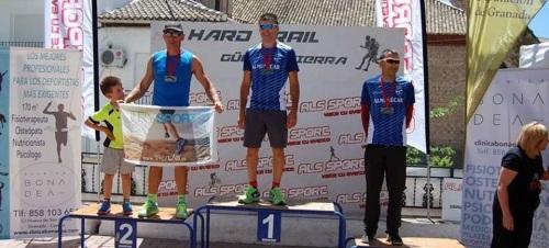 El Club Atletismo Sexitano en el Hard Trail Güejar Sierra