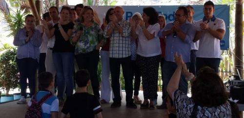 El PP congrega a un millar de vecinos en su primer acto de campaña