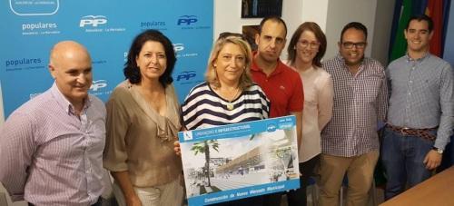El PP presenta su proyecto para el mercado municipal de Almuñécar