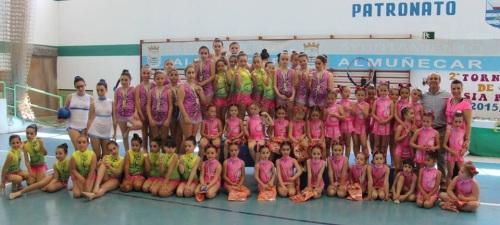 La Escuela de Gimnasia Rítmica de Almuñécar triunfó en el torneo sexitano