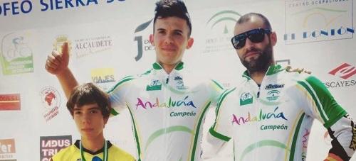Miguel Sanchez y Luis Zarco, Campeones de Andalucía de Descenso MTB