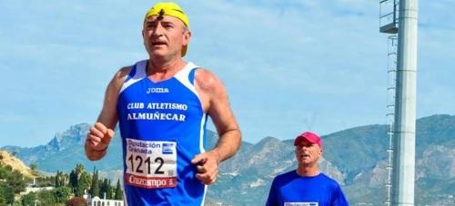 Juan A. Sánchez Alabarces en la XXIV Medio Maratón Ciudad de Granada