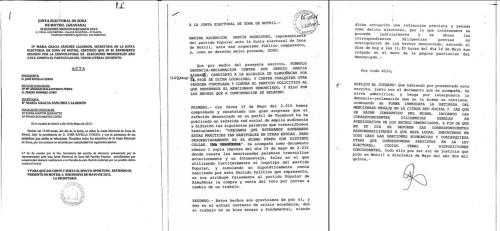 La Junta Electoral se pronuncia sobre la denuncia del PP al candidato del PSOE, Sergio García, por posible delito