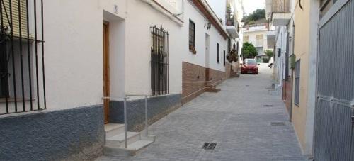 Las obras en la calle Balandro del Bº del Espinar en La Herradura llegan a su fin