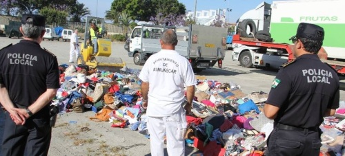 POLICIA DESTRUCCION MATERIAL DECOMISADO 15 2