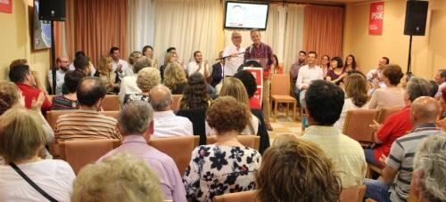 Presentación candidatura PSOE en La Herradura 2