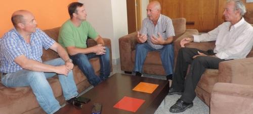 Reunión grupo de agricultores