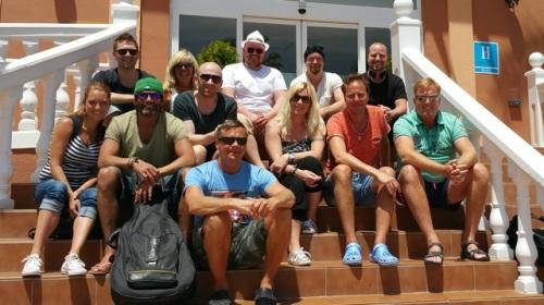 Compositores participantes en la Costa Tropical Music Camp 2015