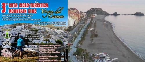"""Abierto el plazo de inscripción de la IV Ruta Ciclo-turística BTT """"Virgen del Carmen"""""""