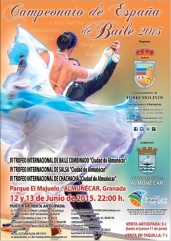 'Campeonato de España de Baile 2015′, en el parque El Majuelo de Almuñécar