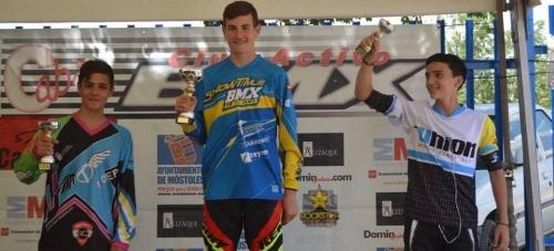 Carlos Rodríguez llegará líder a la última prueba de la Copa de España de BMX 2