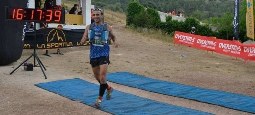 Roberto González, del Club Atletismo Sexitano, en la Animal Trail 2015