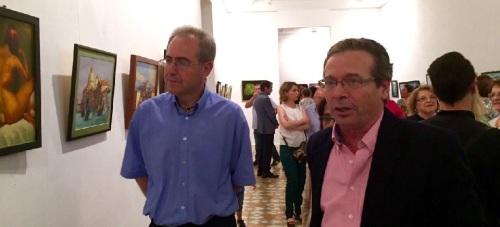 Exposición en Motril de cuadros de la escuela 'Academia Hangel ArtStudio'