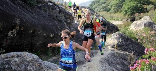 Fran y Cris, del Club Atletismo Sexitano, logran sendos podios en el Trail de Jimena de la Frontera