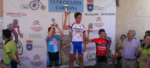 El ciclista José María Herrero ganó en el Circuito Provincial de Sevilla