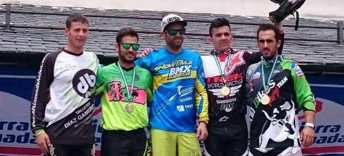 Luis Zarco, corredor del Show Time BMX, se impone en la IV Copa Bull Bike Sierra Nevada