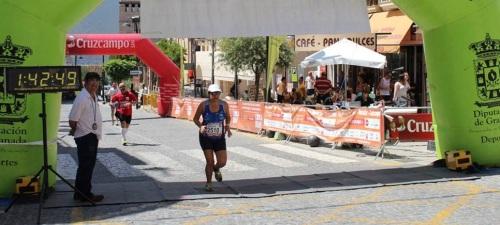 Nuevo podio de la atleta Mª Ángeles Almirón en la Prueba de Órgiva