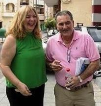 Flor Almón y Antonio Escámez