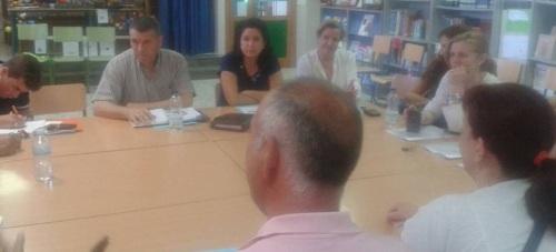 Reunión AMPAS - Partidos Políticos